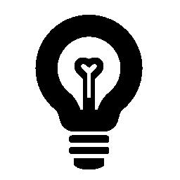 詳細な電球画像無料アイコン