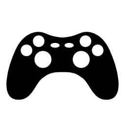 ゲーム コンソール シルエット無料アイコン