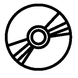 コンパクト ディスクの概要の無料のアイコン
