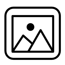 マウンテン ビューの写真フレーム無料アイコン
