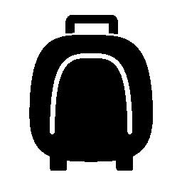 丸め長方形ベビーカー バッグ無料アイコン
