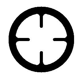 円形の撮影対象の無料のアイコン