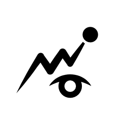 目の無料アイコンの観測シンボル