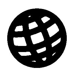 無料のアイコンをグリッドと円の世界シンボル