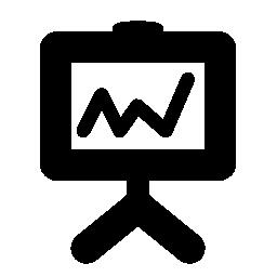 プレゼンテーション画面無料アイコン