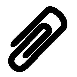 クリップ添付シンボル無料アイコン