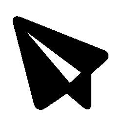 紙飛行機の無料アイコンのメッセージの記号