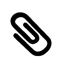 クリップ黒回転図形無料アイコン