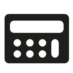 電卓は、バリアントの無料アイコンをツール