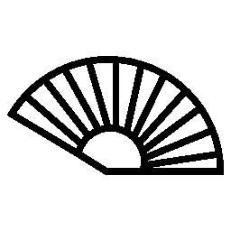 ファン アウトライン、IOS 7 インタ フェース シンボル無料アイコン