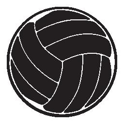 ビーチバレー ボール、IOS 7 インタ フェース シンボル無料アイコン