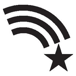 星と虹、IOS 7 インタ フェース シンボル無料アイコン