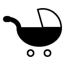 赤ちゃんのトロリー、IOS 7 インタ フェース シンボル無料アイコン