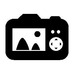 デジタル カメラ、IOS 7 インタ フェース シンボル無料アイコン