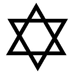 ダビデの星、IOS 7 インタ フェース シンボル無料アイコン