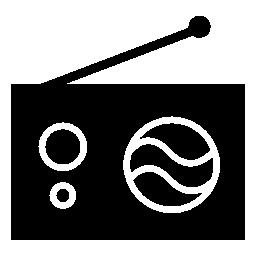 ラジオ、IOS 7 インタ フェース シンボル無料アイコン