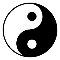 Yin ヤン、IOS 7 シンボル無料アイコン