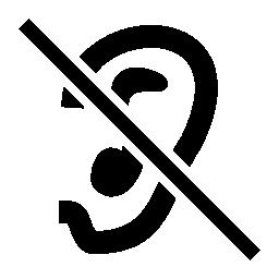 サイレントは、IOS 7 インタ フェース シンボル無料アイコン