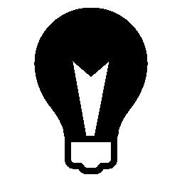 電球の光、IOS 7 インタ フェース シンボル無料アイコン