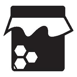 蜂蜜の瓶、IOS 7 インタ フェース シンボル無料アイコン