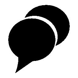 チャット、IOS 7 インタ フェース シンボル無料アイコン