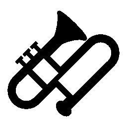 トロンボーン、IOS 7 インタ フェース シンボル無料アイコン