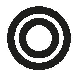 大きな輪無料のアイコンの小さな円