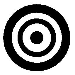 ターゲット撮影の無料のアイコン