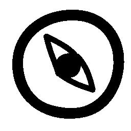 コンパス方向の落書き無料アイコン