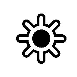 Sun は、IOS 7 インタ フェース シンボル無料アイコン