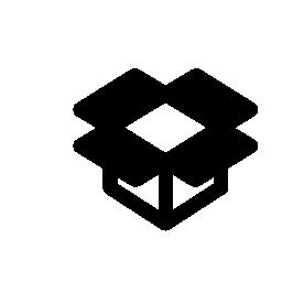 Dropbox 概要ロゴ無料アイコン