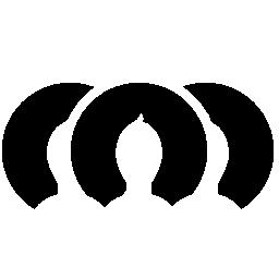 複数のユーザー プロフィール画像無料アイコン