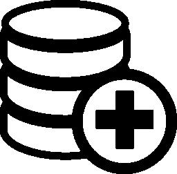 データベース シンボル無料のアイコンを追加します。