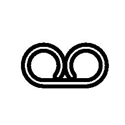 IOS 7 インターフェイス無料アイコンの UI シンボル