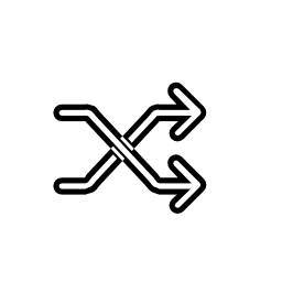 シャッフル、IOS 7 インタ フェース シンボル無料アイコン
