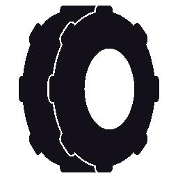 タイヤ、タイヤ、ホイール、IOS 7 インタ フェース シンボル無料アイコン