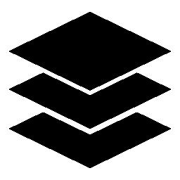 黒、IOS 7 インタ フェース シンボル無料アイコンでレイヤー