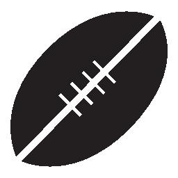 ラグビーのボール、IOS 7 インタ フェース シンボル無料アイコン