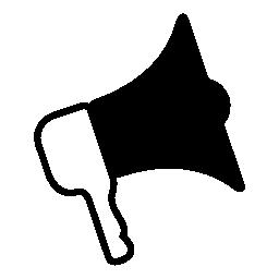 スピーカー ・ コーン IOS 7 インタ フェース シンボル無料アイコン
