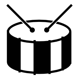 ドラム、IOS 7 インタ フェース シンボル無料アイコン