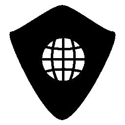 Web シールド、IOS 7 インタ フェース シンボル無料アイコン