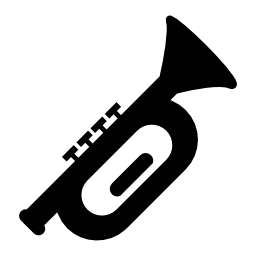 トランペット、IOS 7 インタ フェース シンボル無料アイコン