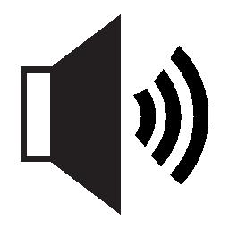 高ボリューム、IOS 7 シンボル無料アイコン