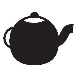 お茶のポット、IOS 7 シンボル無料アイコン