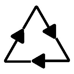 リサイクル、IOS 7 シンボル無料アイコン