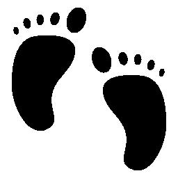赤ちゃんフット プリント、IOS 7 シンボル無料アイコン