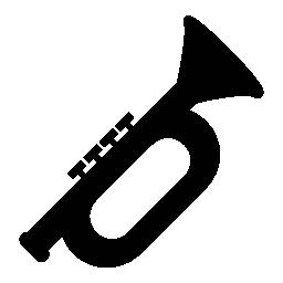 ラッパ, 楽器, IOS 7 シンボル無料アイコン