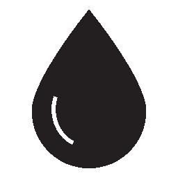 大きな液滴無料アイコン