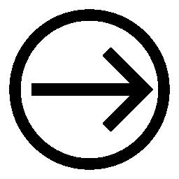 サークル概要無料アイコン内の右側にある矢印