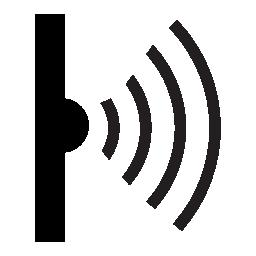 ワイヤレス接続の信号強度の無料アイコン